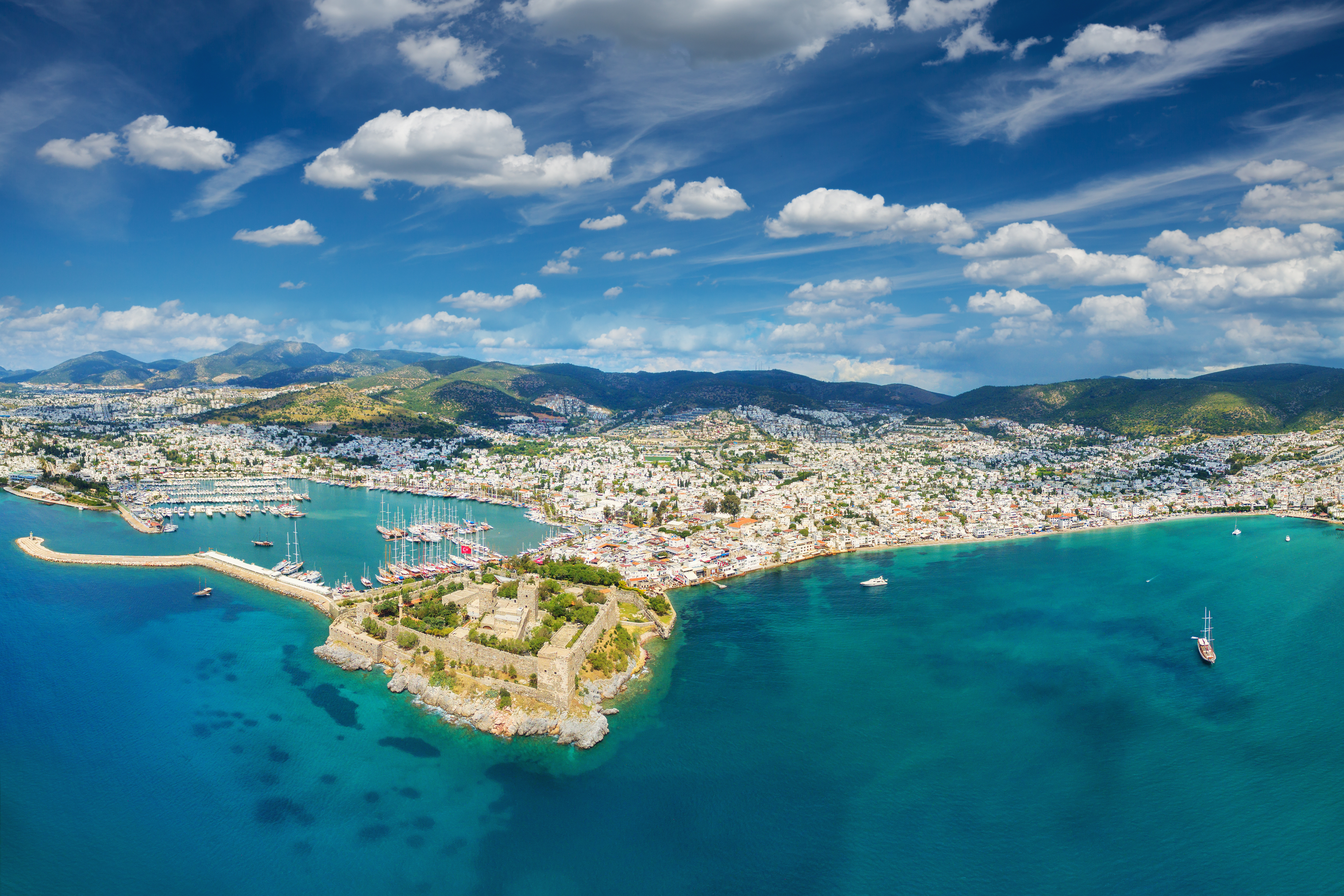 A Yacht Charter Turkey - sailing in Bodrum